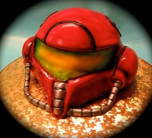 Super Metroid Helmet by Goard