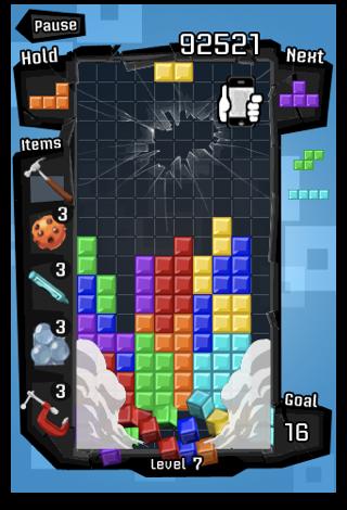 Tetris on the iphone
