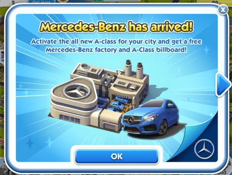Mercedes-Benz-in-SimCity-Social