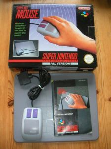 The Super Nintendo Mouse. Courtesy of Giantbomb.com