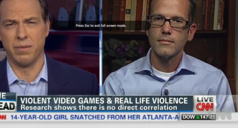 Dr. Patrick Markey cautions about interpretation of violent game study results